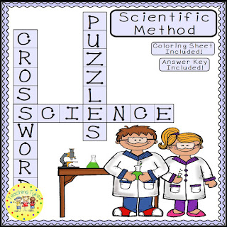 https://www.teacherspayteachers.com/Product/Scientific-Method-Crossword-Puzzle-3091810