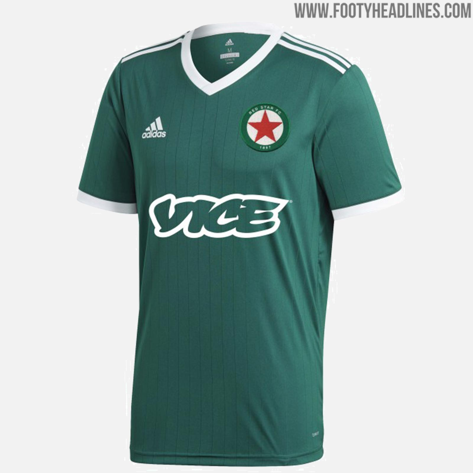 8897f1f10 Sponsored by Vice - Adidas Red Star FC 18-19 Home   Away Kits ...
