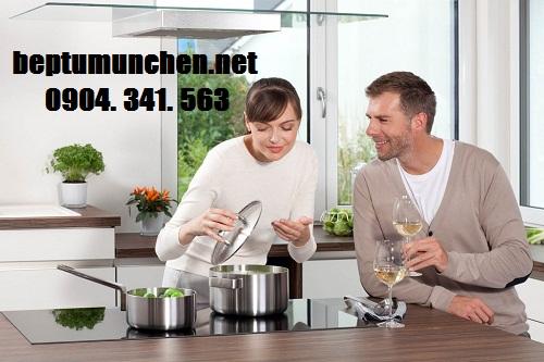 Bếp từ dễ dàng vệ sinh và lau chùi