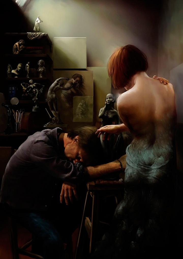 "British Digital Fantasy Painter ""Steve De La Mare"""
