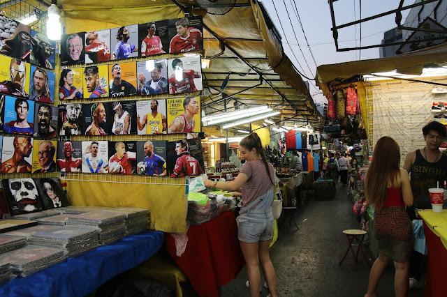 Pat Pong Night Market Bangkok Thailand