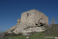 Israel Images: Remains of the Crusader castle at Latrun (Latrun Castle)