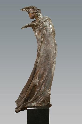 "Kieta Nuij - ""Salomé"" | imagenes de obras de arte contemporaneo tristes, esculturas bellas chidas | figurative art, sculptures | kunst"