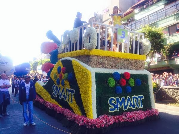 Smart Panagbenga 2014 grand float
