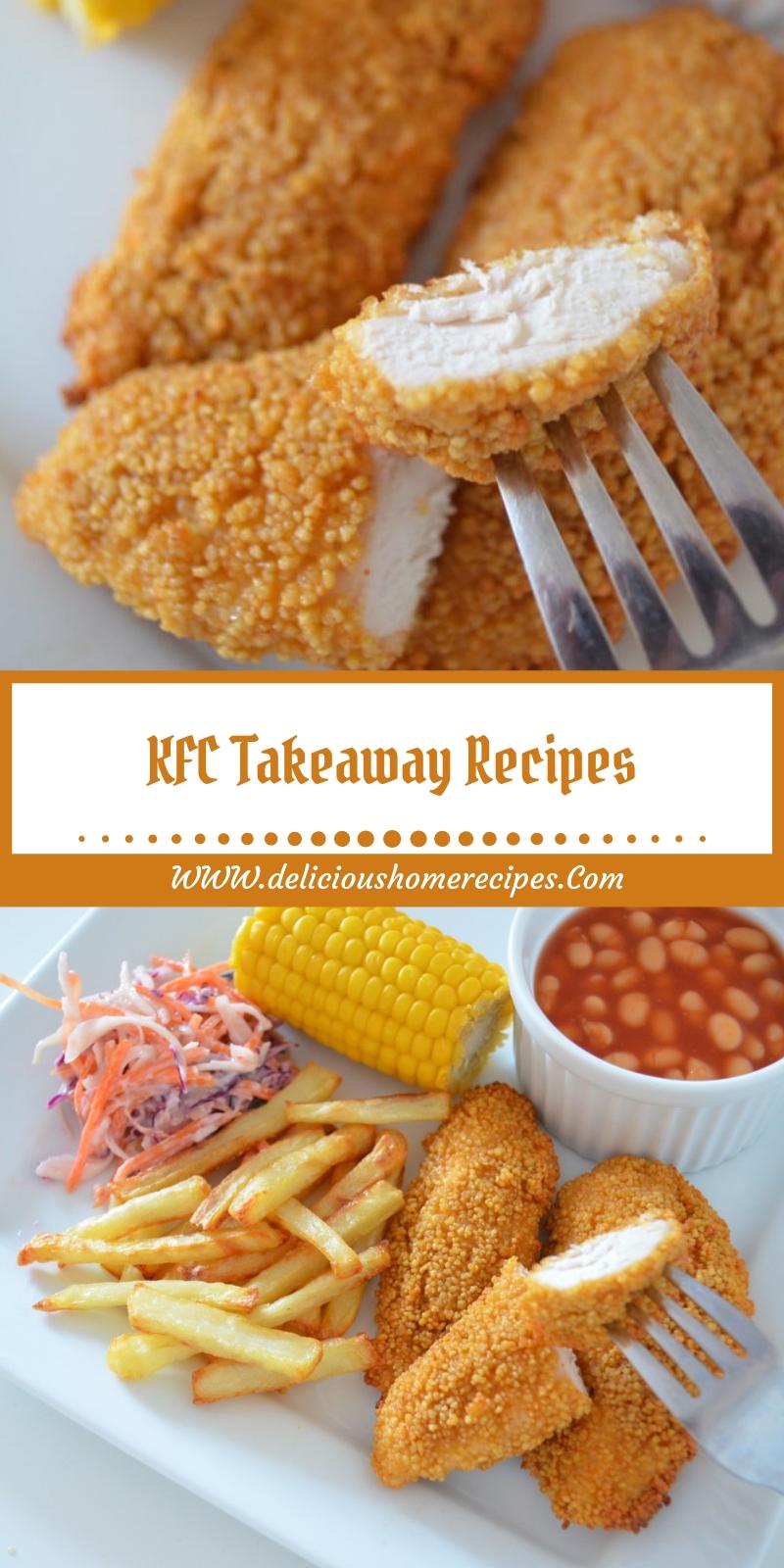 KFC Takeaway Recipes