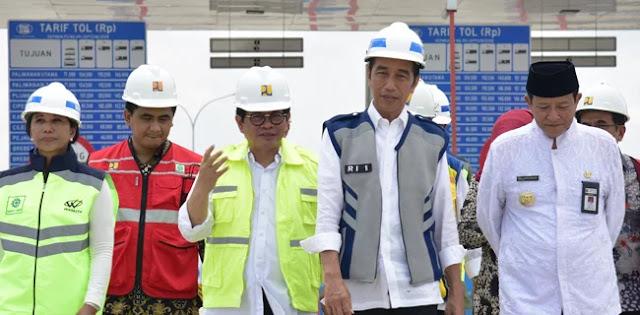 Jokowi: Merak-Surabaya Tersambung Tol Pada Desember