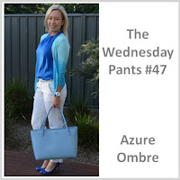 Sydney Fashion Hunter - The Wednesday Pants #47 - Azure Ombre