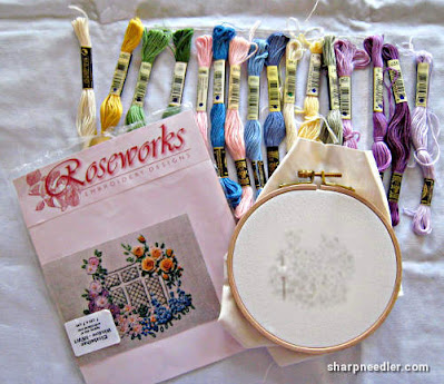 Elizabethan Window (by Roseworks): Project contents