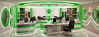 màu sắc là yếu tố đầu tiên cần lưu ý khi thiết kế nội thất văn phòng