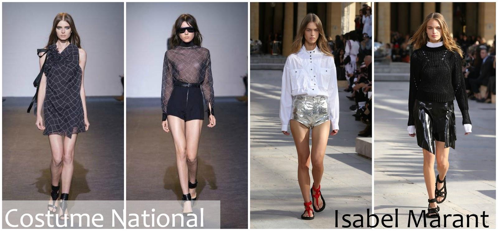 Costume National Isabel Marant runway fashion