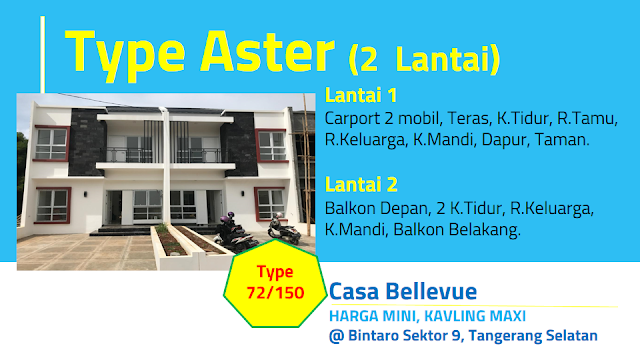 Tipe Aster Casa Bellevue