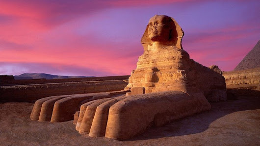 The Great Sphinx of Giza : Beautiful Riddles
