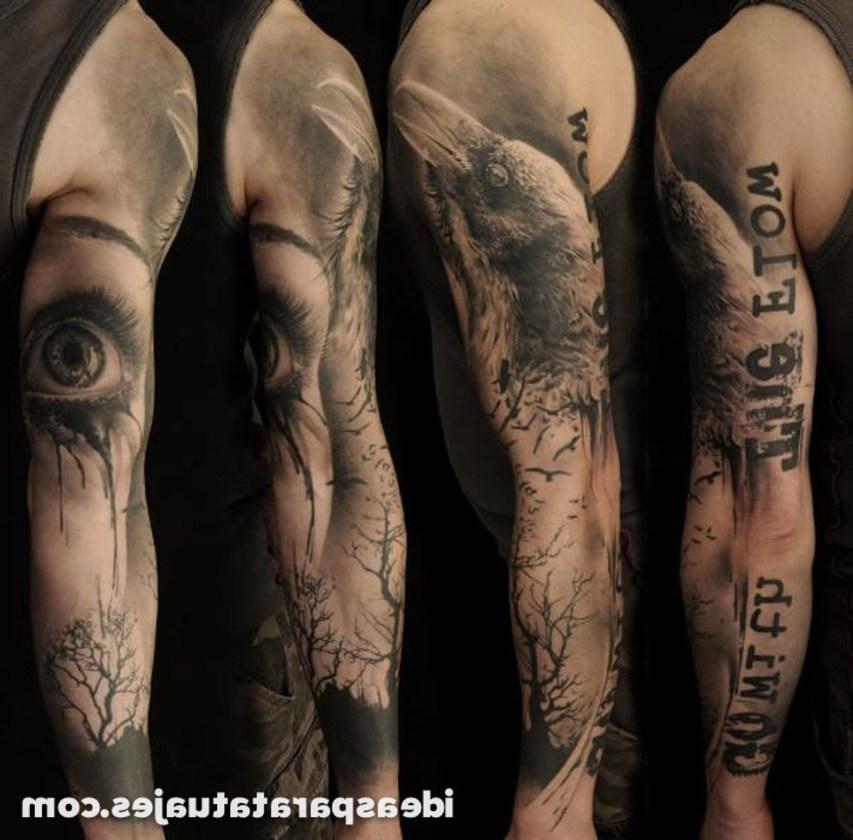 Tatuajes Brazo Entero Hombre