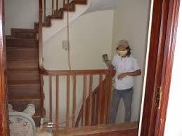 chuyên sơn cầu thang tại gia.