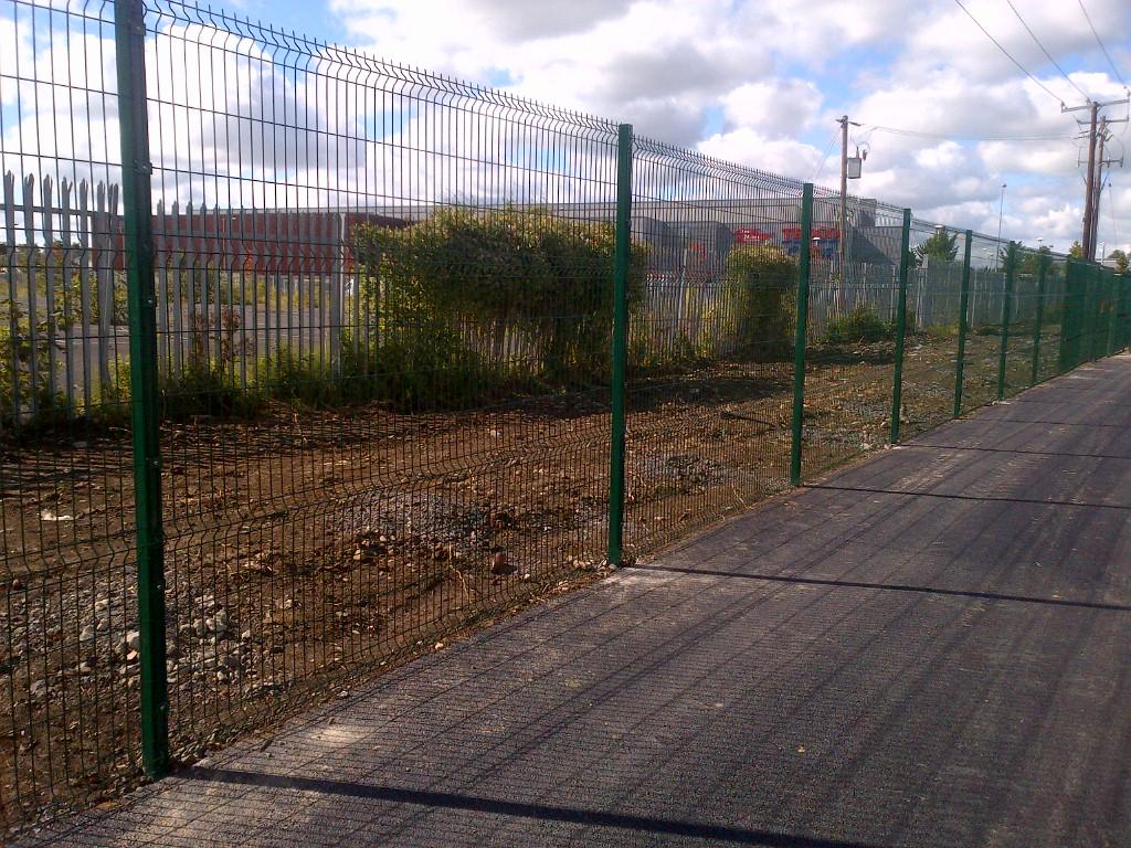 Capital Fencing 2 4m High V Mesh Welded Mesh Panel Fence