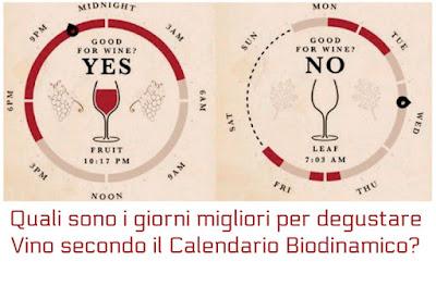 calendario vino luna degustazione