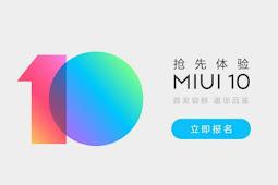 Xiaomi Resmi Meluncurkan MIUI 10 Pada Beberapa Smartphonenya