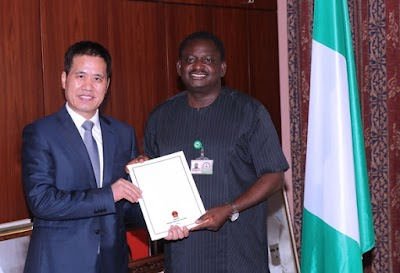 ICYMI: China presents letter of congratulations to Buhari
