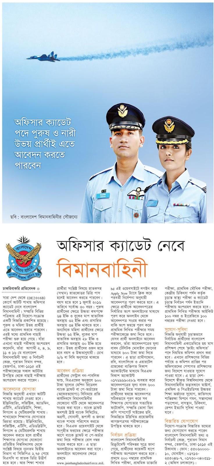 alljobcircularbd bangladesh air force
