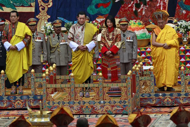 King Of Bhutan Royal Wedding