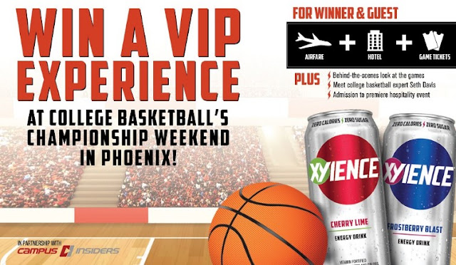 XYIENCE COLLEGE BASKETBALL SWEEPSTAKES
