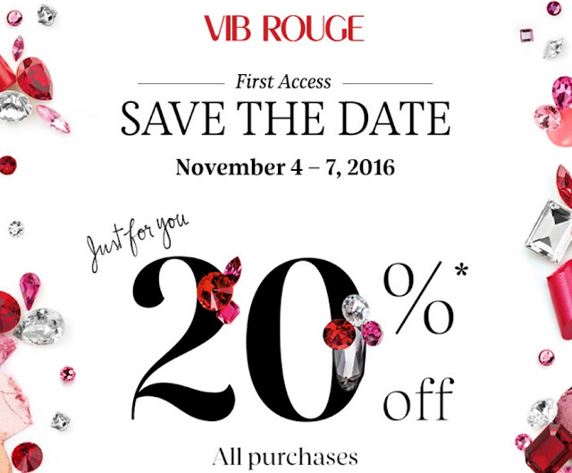 Sephora VIB Rouge Members 20% OFF Coupon Code Sale 2016