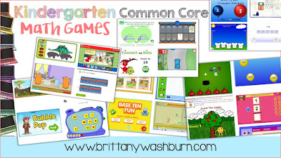 26 Awesome Common Core Kindergarten Math Technology Activities