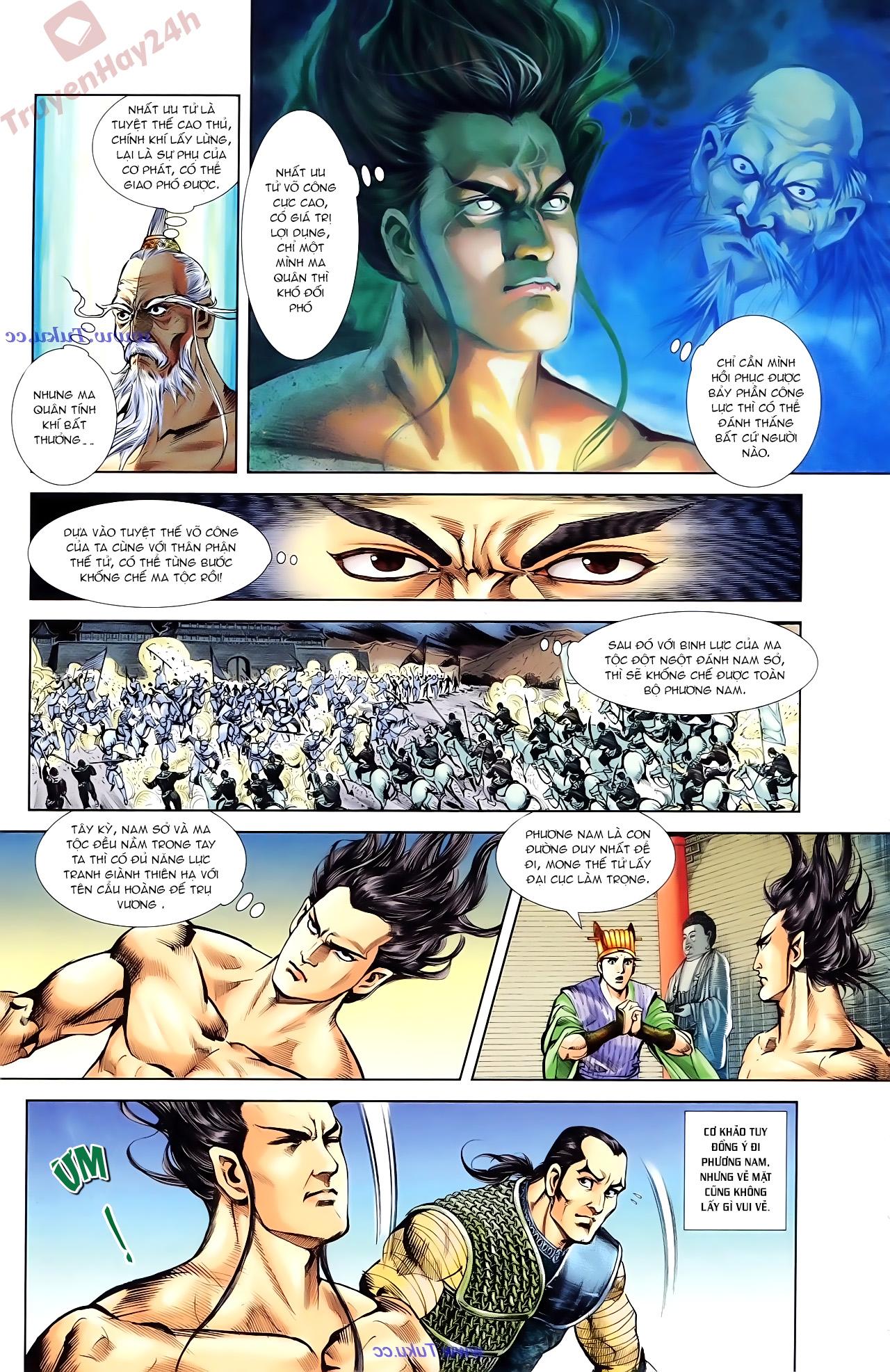 Cơ Phát Khai Chu Bản chapter 85 trang 14