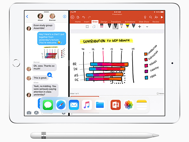 iWork FOR APPLE PENCIL