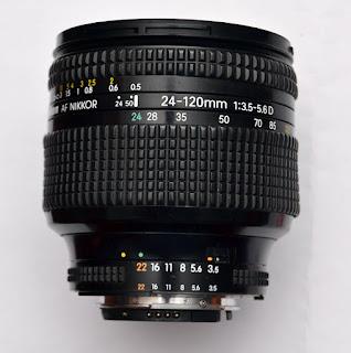 Jual Lensa Nikon 24-120mm AFD Bekas