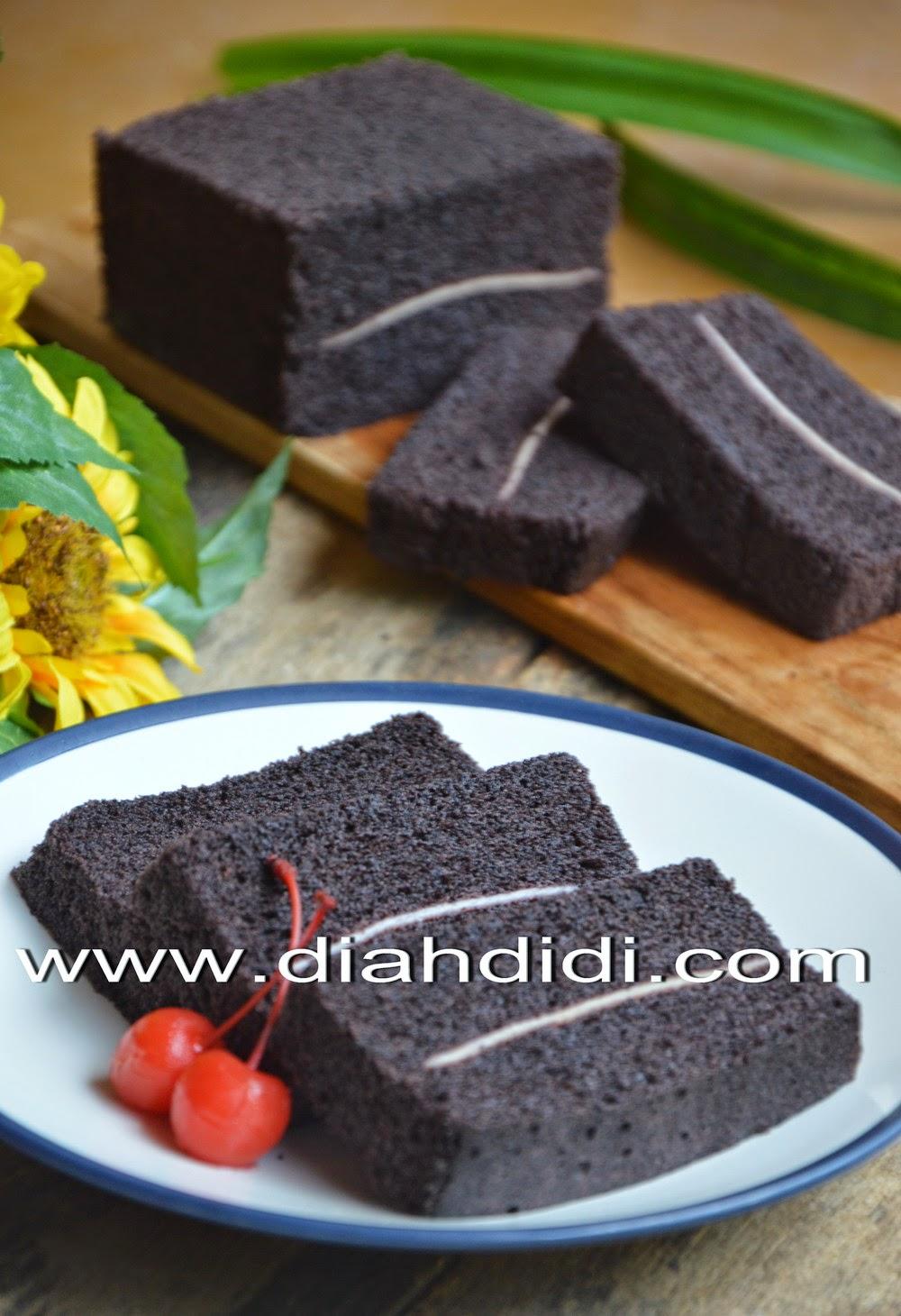 Diah Didi S Kitchen Cake Kukus Ketan Hitam Lapis Keju