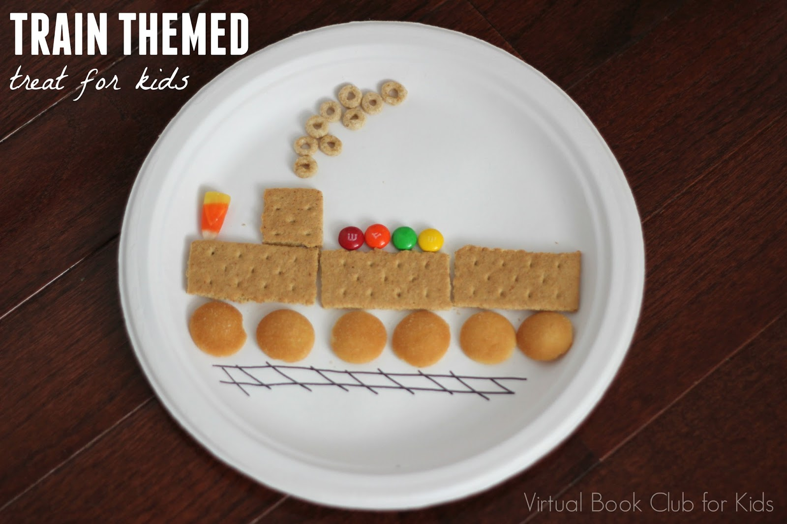 Train Themed Treat For Kids