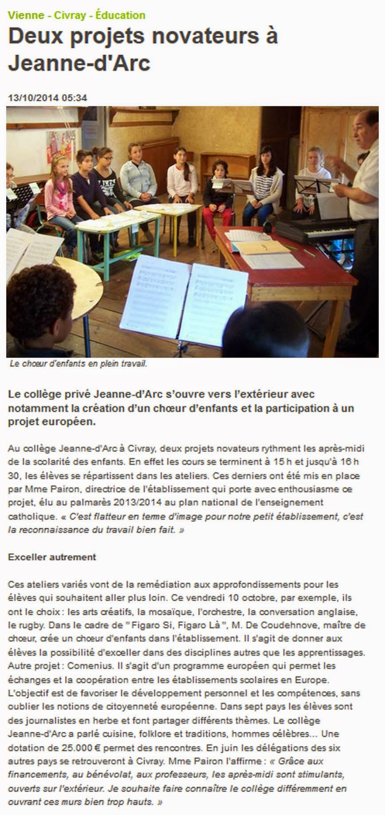 http://www.lanouvellerepublique.fr/Vienne/Communes/Civray/n/Contenus/Articles/2014/10/13/Deux-projets-novateurs-a-Jeanne-d-Arc-2079100