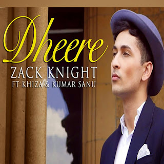 Dheere Lyrics - Zack Knight