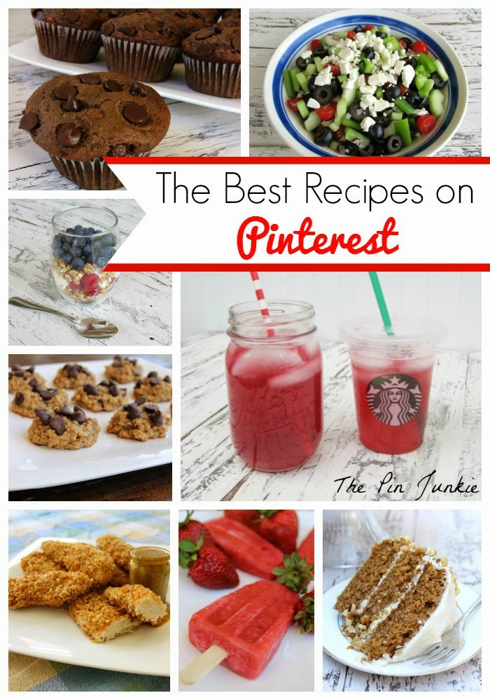 The Best Pinterest Recipes