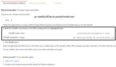 error bx saat simpan domain