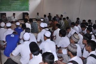 Jelang Ujian, Siswa Baca Manaqib dan Rattibul Haddad