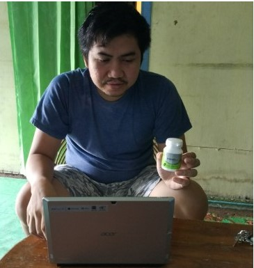Stimuno Blogger Banjarmasin Miftah Farid
