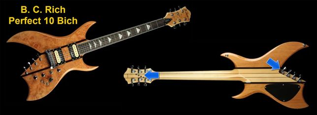 Guitarra de 10 Cuerdas B.C. Rich Perfect 10 Bich
