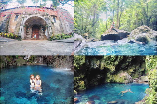 Travel To Falls In Laguna That Look Like Surigao del Sur's Enchanted River For Less than 900 PESOS! READ HERE