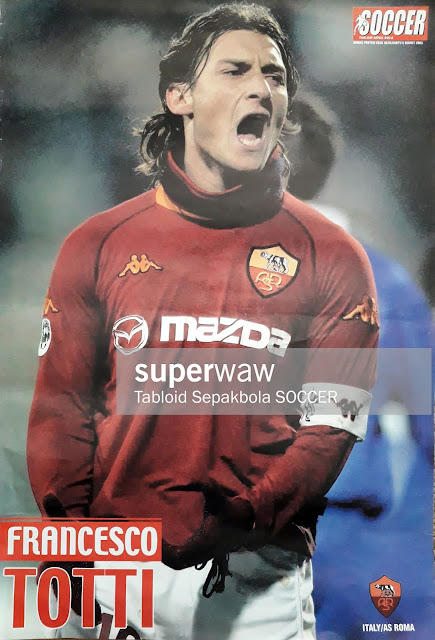 FRANCESCO TOTTI AS ROMA 2003