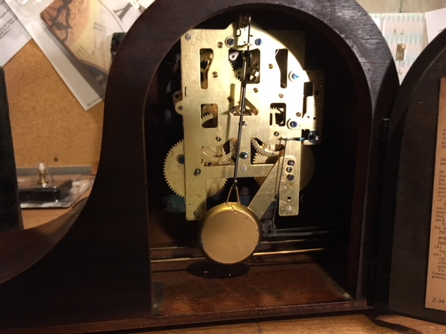 Seth Thomas 4505 Mantle Clock