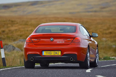 Rear Photos of BMW 6 Series Cars