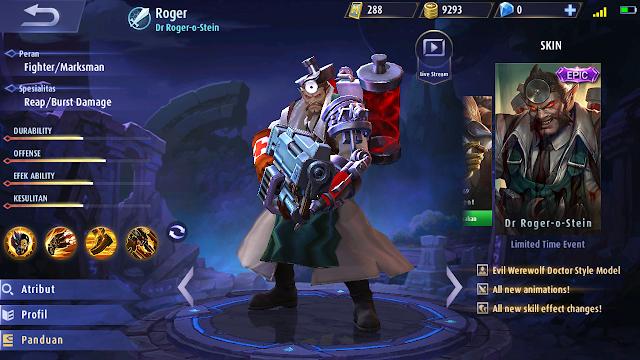 New Skin Epic: Roger - Dr. Roger-O-Stein