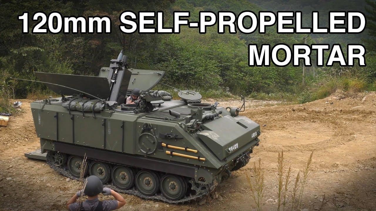 Корея розпочне серійне виробництво 120-мм самохідних мінометів