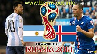 مشاهدة مباراة الأرجنتين و ايسلندا بث مباشر اليوم كورة لايف يلاشوت | كأس العالم روسيا 2018
