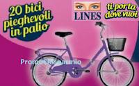Logo Lines ti porta dove vuoi: vinci 20 biciclette pieghevoli! Anticipazione