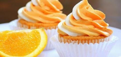 طريقة تحضير كب كيك البرتقال