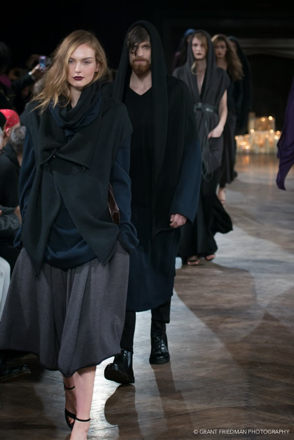 fashionably petite: Lars Andersson Fall/Winter 2014 at New