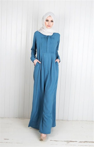model abaya simple terbaru